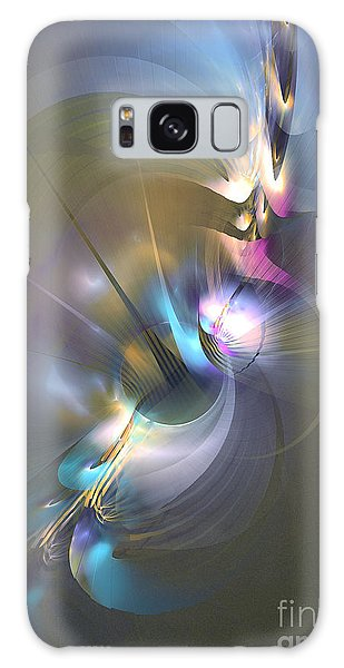 Heart Of Dragon - Abstract Art Galaxy Case