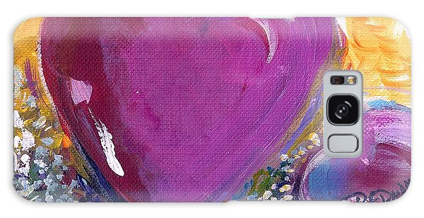 Heart Of Love Galaxy Case by Bernadette Krupa