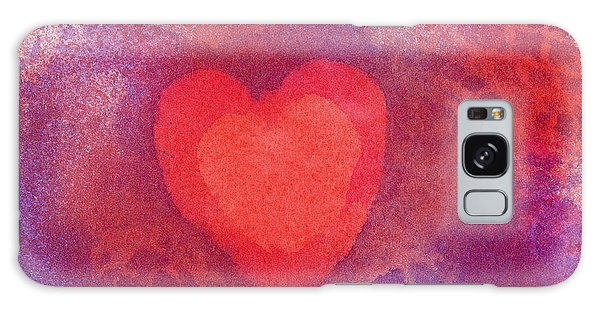 Heart Of Love Galaxy Case