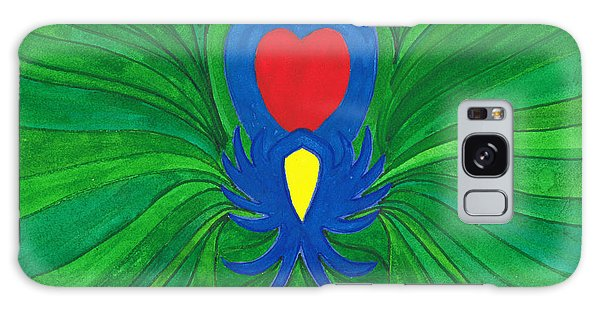 Heart Of Love.mexico Galaxy Case