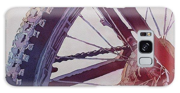 Heart Of The Bike Galaxy Case
