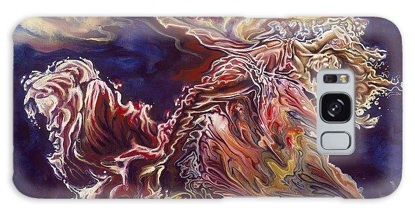 Disintegration Galaxy Case - Heart Open by Karina Llergo