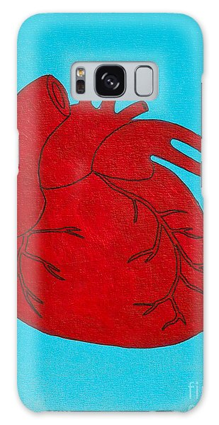 Heart Red Galaxy Case