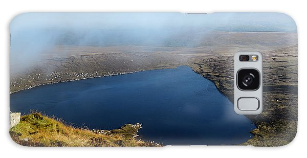 Heart Shape Lake Lough Ouler Wicklow In Ireland Galaxy Case