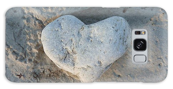 Heart Stone Photography Galaxy Case by Rachel Stribbling