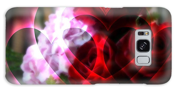 Hearts A Fire Galaxy Case