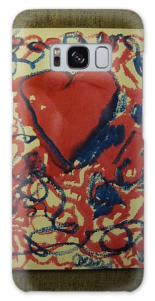 Hearts Entwined Galaxy Case by Lawrence Christopher