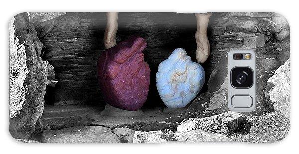 Hearts In Malachi Valentine Version Galaxy Case