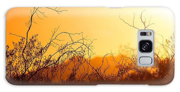 Galaxy Case featuring the photograph Heat Of The Day by Brad Brizek