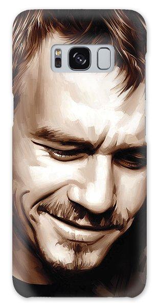 Heath Ledger Artwork Galaxy Case