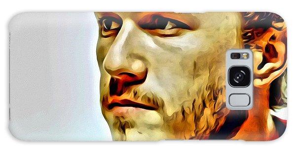 Heath Ledger Portrait Galaxy Case