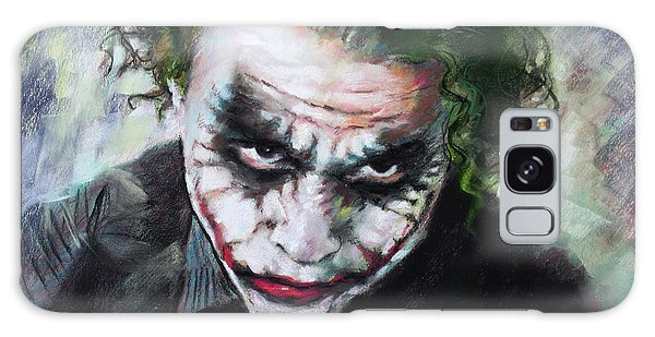 Heath Ledger The Dark Knight Galaxy Case by Viola El