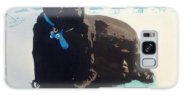 Heathers Dog Galaxy Case by Cherise Foster