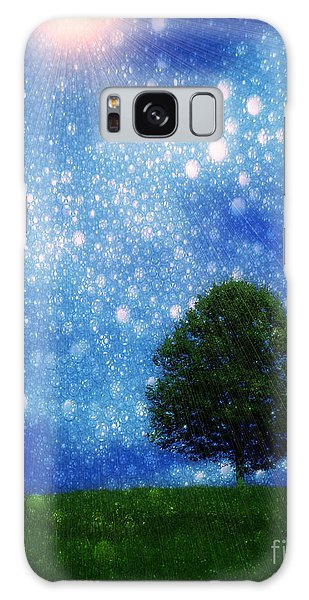 Heaven And Earth Galaxy Case by Rory Sagner