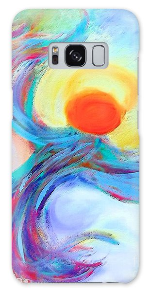 Heaven Sent Digital Art Painting Galaxy Case