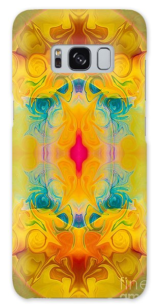 Heavenly Bliss Abstract Healing Artwork By Omaste Witkowski  Galaxy Case