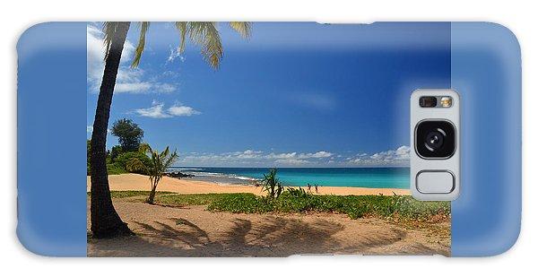Heavenly Haena Beach Galaxy Case