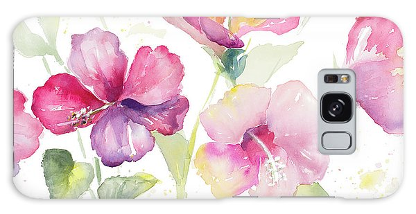 Hibiscus Galaxy Case - Heavenly Hibiscus by Lanie Loreth