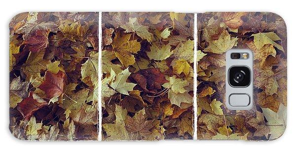 Heavenly Leaves Triptych Galaxy Case