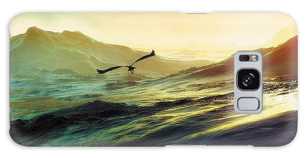 Heavens Breath 29 Galaxy Case by The Art of Marsha Charlebois