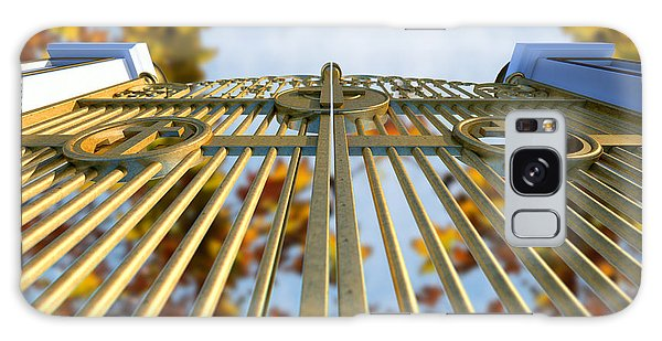 Majestic Galaxy Case - Heavens Golden Gates And Autumn Leaves by Allan Swart