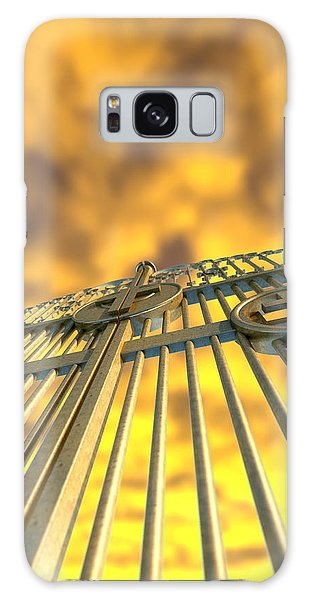 Majestic Galaxy Case - Heavens Golden Gates And Yellow Sky by Allan Swart