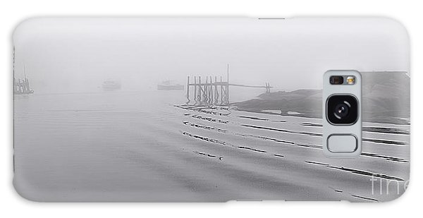 Heavy Fog And Gentle Ripples Galaxy Case by Marty Saccone