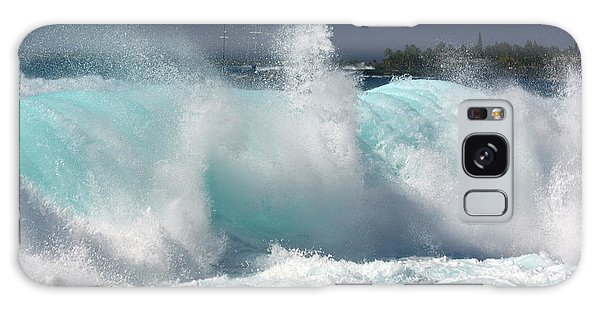 Heavy Surf Galaxy Case by Lori Seaman