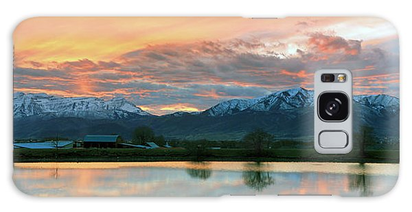 Heber Valley Sunset Galaxy Case