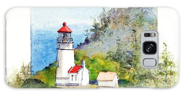 Heceta Head Lighthouse Galaxy Case