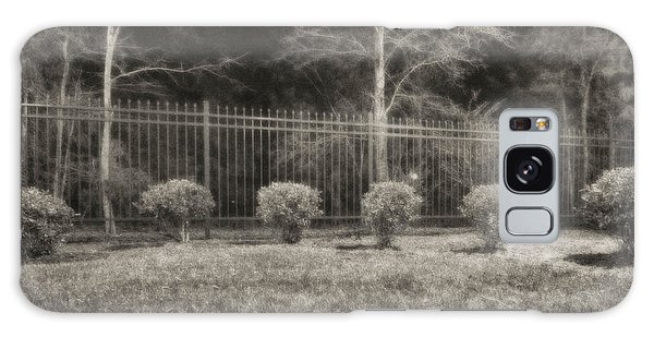 Hedges And Trees Galaxy Case by J Riley Johnson
