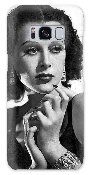 Hedy Lamarr - Beauty And Brains Galaxy Case by Daniel Hagerman