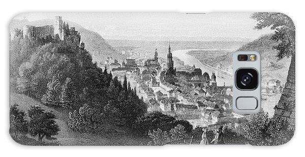 Heidelberg Etching Galaxy Case by Rudi Prott