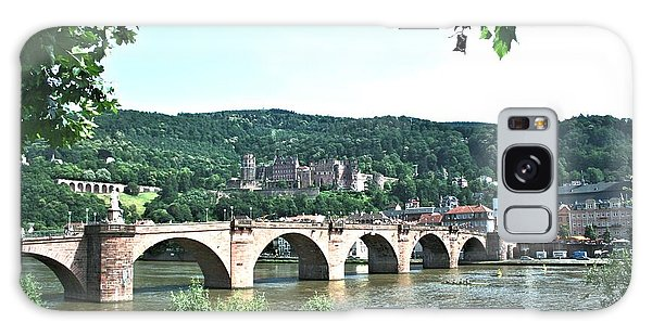 Heidelberg Schloss Overlooking The Neckar Galaxy Case