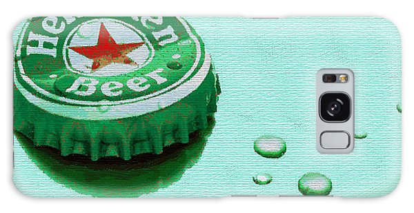 Heineken Cap Green Galaxy Case