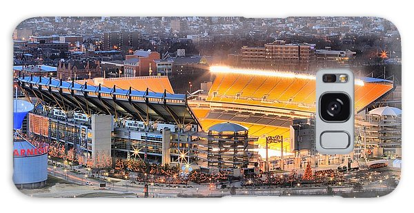 Heinz Field At Night Galaxy Case