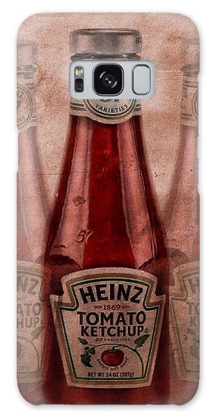 Heinz Tomato Ketchup Galaxy Case by Dan Sproul