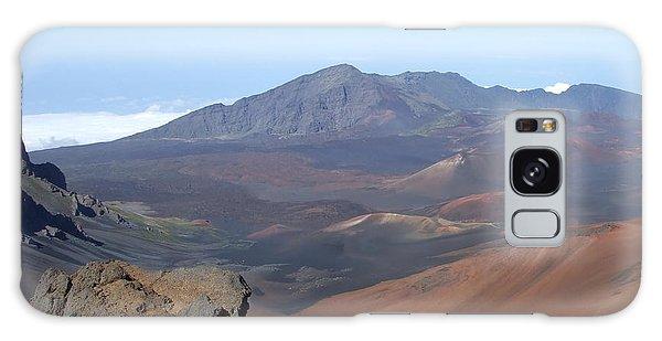 Heleakala Volcano In Maui Galaxy Case by Richard Reeve