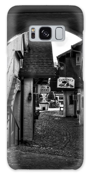 Helen Georgia Side Street In Black And White Galaxy Case