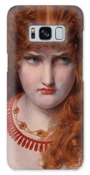 Mythological Galaxy Case - Helen Of Troy by Anthony Frederick Augustus Sandys