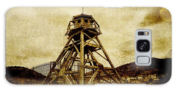 Helena-montana-fire Tower Galaxy Case