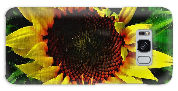 Helianthus Annus - Sunnydays Galaxy Case