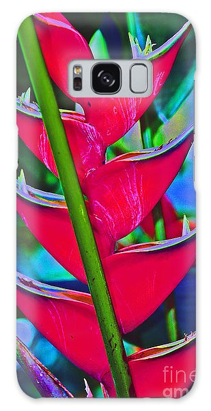Heliconia Abstract Galaxy Case