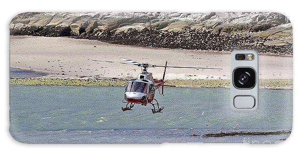 Helicopter Landing In Skagway Galaxy Case