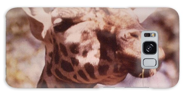 Velvety Giraffe Galaxy Case by Belinda Lee