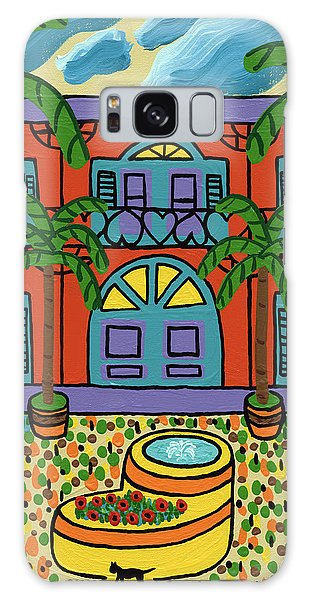 Hemingway House - Key West Galaxy Case
