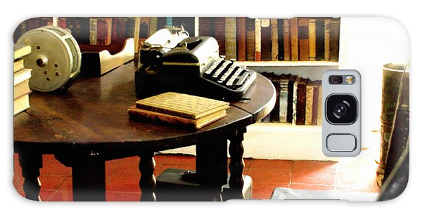 Hemingway's Studio Ernest Hemingway Key West Galaxy Case by Iconic Images Art Gallery David Pucciarelli