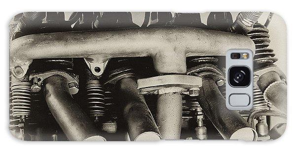 Henderson Motorcycle Engine With A  Heath Parasol Kit  Galaxy Case by Wilma  Birdwell