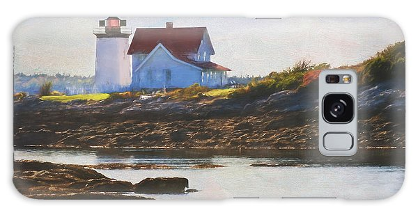Hendricks Head Lighthouse - Maine Galaxy Case by Jean-Pierre Ducondi