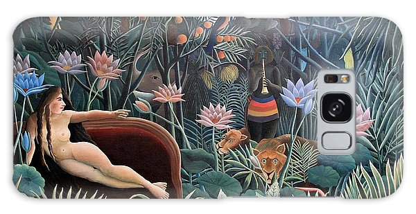 Henri Rousseau The Dream 1910 Galaxy Case